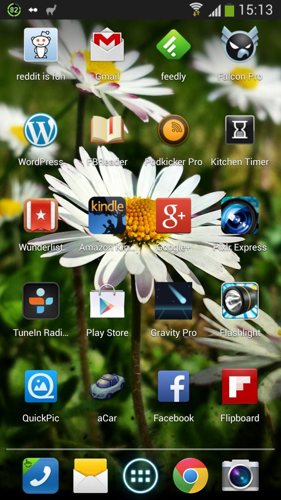 Galaxy S4 Home