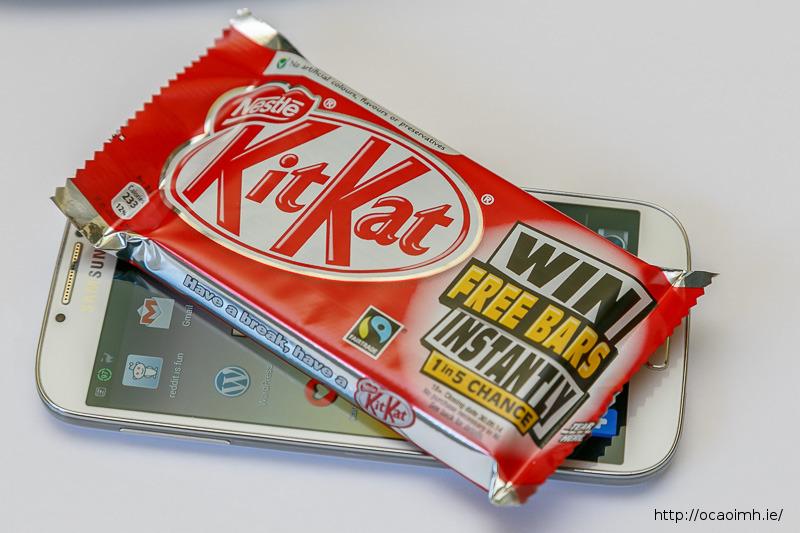 KitKat on the Galaxy S4