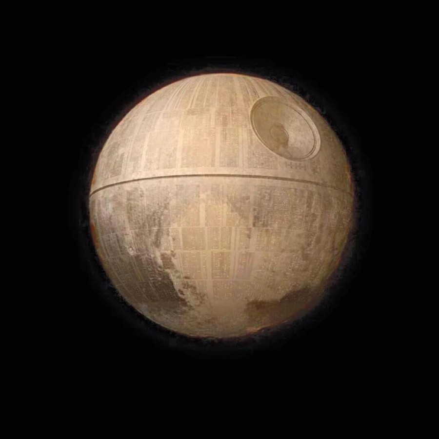 Pluto the Death Star